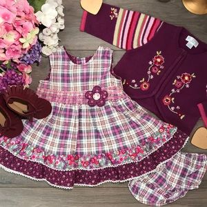🆕 Children's Place Gorgeous Corduroy Dress 3/6m